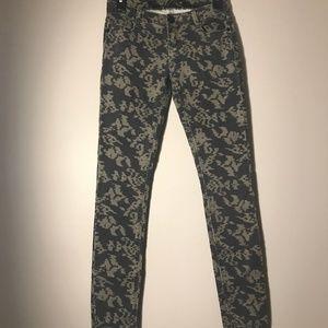 Vanilla Star Camo Style Skinny Jeans